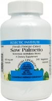 Eclectic Institute Saw Palmetto Vegetarian Capsules 600 mg