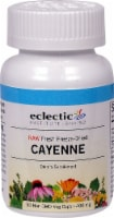 Eclectic Institute Raw Cayenne Veg Caps 400 mg