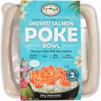 Blue Hill Bay Hawaiian Style Smoked Salmon Poke Bowl