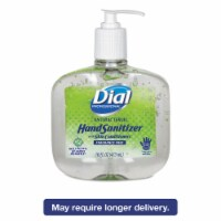 Dial Hand Sanitizer,  16 oz.,  Pump Bottle,  Gel,  None,  PK 8 16 oz.   00213