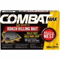 Combat Max Roach Killing Bait - 18 ct / 0.64 oz