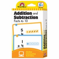 Learning Line: Addition and Subtraction Facts to 10, Grade 1+ (Age 5+) - Flashcards - 1