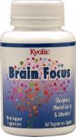 Kyolic Brain Focus Vegetarian Caplets - 60 ct