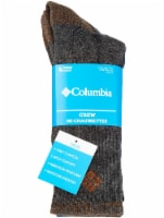 Columbia Men's Crew Socks - 4 Pack - Assorted - 10-13