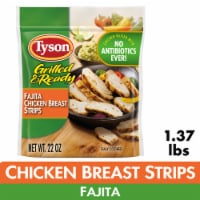 Tyson Grilled & Ready Fully Cooked Fajita Chicken Strips