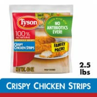 Tyson® Fully Cooked Crispy Chicken Strips - 40 oz