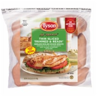 Tyson Thin Slice Trimmed & Ready Boneless Skinless Chicken Breasts