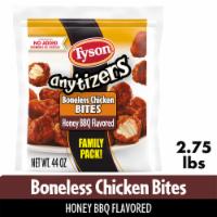 Tyson® Any'tizers® Honey BBQ Flavored Boneless Chicken Bites Family Pack - 44 oz