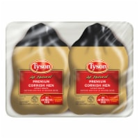Tyson All Natural Premium Cornish Hen Twin Pack