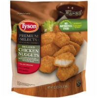 Tyson Premium Selects Fully Cooked Breaded Chicken Nuggets