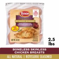 Tyson Rotisserie Seasoned Boneless Skinless Chicken Breasts - 40 oz