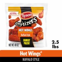 Tyson Any'tizers Buffalo Style Bone-In Chicken Wings