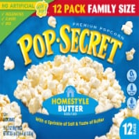 Pop Secret Homestyle Popcorn - 12 ct / 3.2 oz