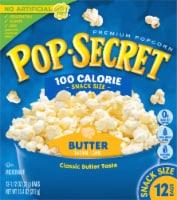 Pop Secret Butter Popcorn Snack Size Bags 12 Count