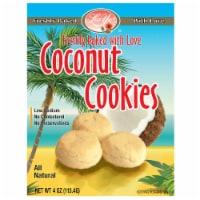 Luv Yu Coconut Cookies