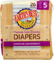 Earth's Best Organic Tendercare Size 5 Diapers