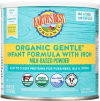 Earth's Best Organic Gentle with Iron Milk-Based Powder Infant Formula