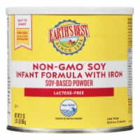 Earth's Best Non-GMO Soy with Iron Soy-Based Powder Infant Formula