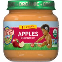 Earth's Best Organic Apples Stage 2 Baby Food