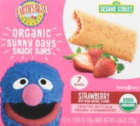 Earth's Best Organic Sunny Days Strawberry Snack Bars 8 Count
