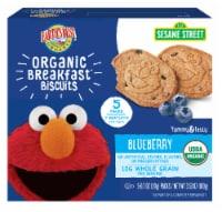 Earth's Best Sesame Street Blueberry Oat Organic Breakfast Biscuits