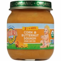 Earth's Best Organic Corn & Butternut Squash Stage 2 Baby Food