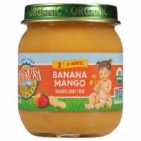 Earth's Best Organic Banana Mango Stage 2 Baby Food