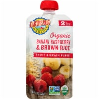 Earth's Best Organic Banana Raspberry Brown Rice Fruit & Grain Puree