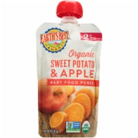 Earth's Best Organic Sweet Potato Apple Stage 2 Baby Food Puree Pouch