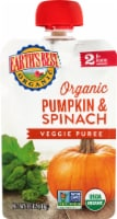 Earth's Best Organic Pumpkin Spinach Stage 2 Baby Food Puree Pouch