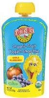 Earth's Best Sesame Street Organic Apple Blueberry Fruit Yogurt Smoothie