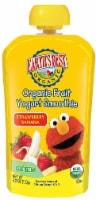 Earth's Best Sesame Street Organic Strawberry Banana Fruit Yogurt Smoothie