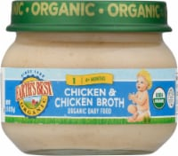 Earth's Best Organic Chicken & Chicken Broth Stage 1 Baby Food