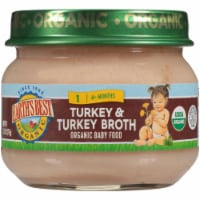 Earths Best Organic Turkey & Turkey Broth Stage 1 Baby Food