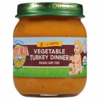 Earth's Best Organic Stage 2 Vegetable Turkey Dinner Baby Food