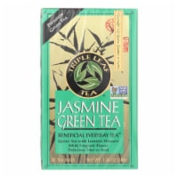Triple Leaf Tea Jasmine Green Tea - 20 Tea Bags - Case of 6