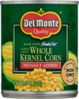 Del Monte® No Salt Added Golden Sweet Whole Kernel Corn - 8.75 oz