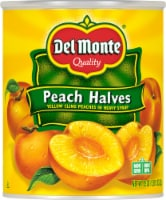 Del Monte Yellow Cling Peach Halves in Heavy Syrup
