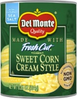 Del Monte Fresh Cut Cream Style Sweet Corn with Natural Sea Salt