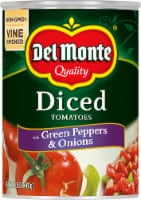 Del Monte Diced Tomatoes with Green Pepper & Onions