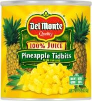 Del Monte Pineapple Tidbits in 100% Juice