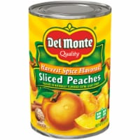 Del Monte Harvest Spice Sliced Peaches in Light Syrup