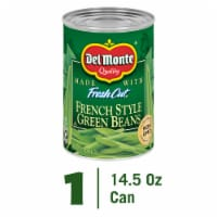 Del Monte Fresh Cut French Style Green Beans with Natural Sea Salt