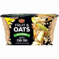 Del Monte Fruit & Oats Pear Maple Cups 2 Count
