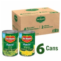 Del Monte® Fresh Cut Green Beans and Whole Kernel Corn Variety Pack - 6 ct