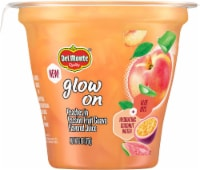 Del Monte® Glow On Peaches in Passion Fruit Guava Flavored Juice Fruit Cup - 6 oz
