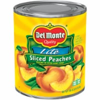 Del Monte Lite Sliced Peaches in Extra Light Syrup