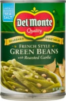 Del Monte French Style Green Beans with Roasted Garlic - 14.5 oz