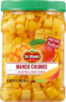 Del Monte SunFresh Mango Chunks in Extra Light Syrup
