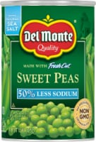Del Monte Reduced Sodium Fresh Cut Sweet Peas